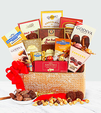 Chocolate Indulgence Basket - Best