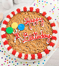 Mrs. Fields&reg; Happy Birthday Big Cookie Cake