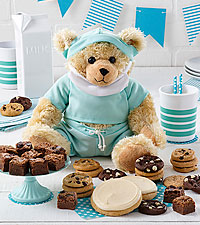Mrs. Fields ® Get Well Bear with Cookies