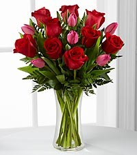 The FTD ® Love Wonder™ Bouquet - VASE INCLUDED