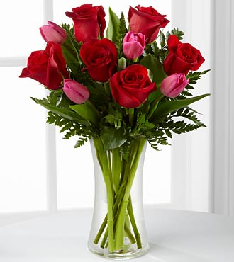 The FTD® Love Wonder™ Bouquet - VASE INCLUDED