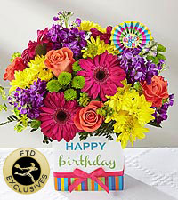 The FTD ® Birthday Brights™ Bouquet