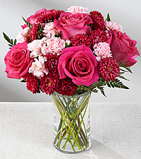 The Precious Heart™ Bouquet by FTD ® - VASE INCLUDED