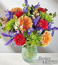 The FTD ® Joyful Moments Bouquet by Better Homes and Gardens ® - VASE INCLUDED