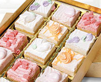 Golden Edibles™ Spring & Summer Spectacular Petit Fours