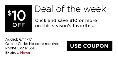 $10 off Deal of the Week