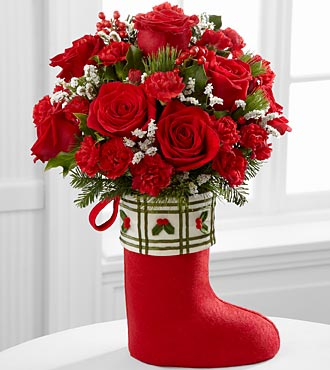 The Celebrate the Season™ Bouquet by FTD® - VASE INCLUDED