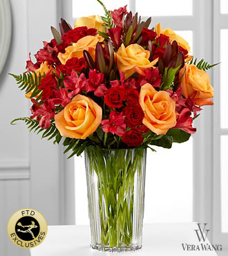 The FTD® Many Thanks™ Bouquet by Vera Wang - VASE INCLUDED