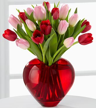 The Season of Love™ Bouquet by FTD® - VASE INCLUDED