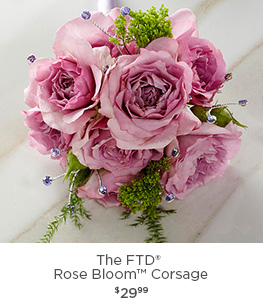 The FTD® Rose Bloom Corsage