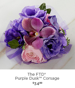The FTD® Purple Dusk Corsage