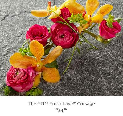 The FTD® Fresh Love Corsage
