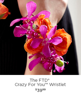 The FTD® Crazy For You Wristlet