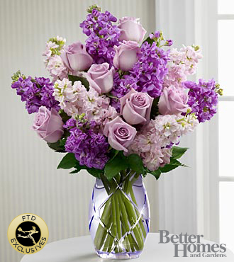 The FTD® Sweet Devotion™ Bouquet by Better Homes and Gardens® - VASE INCLUDED