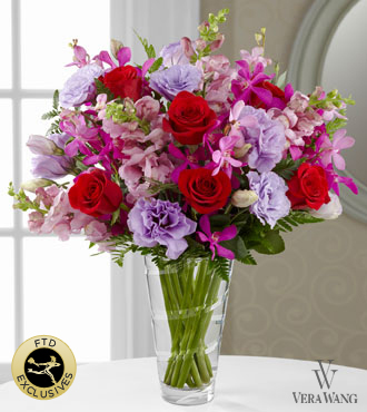 FTD® Perfect Impressions™ Bouquet by Vera Wang - VASE INCLUDED