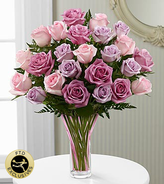 The FTD® Mixed Rose Bouquet - VASE INCLUDED