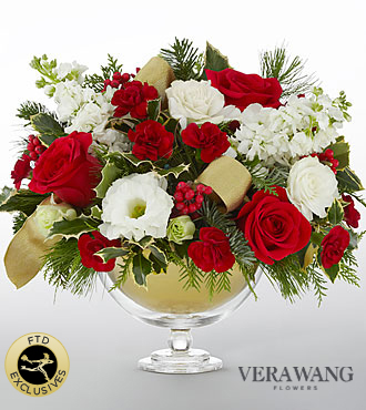 The FTD� Holiday Peace� Bouquet by Vera Wang