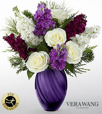 Le bouquet Joyful™ de FTD® par Vera Wang