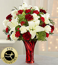 The FTD® Holiday Celebrations™ Bouquet - Exquisite