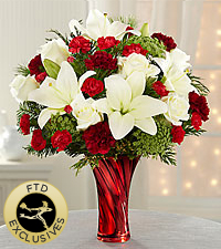 The FTD® Holiday Celebrations™ Bouquet - Premium