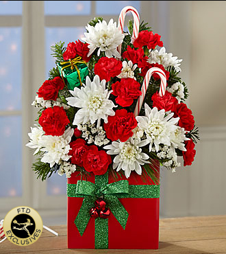 Le bouquet Holiday Cheer<SUP>TM</SUP> de FTD<SUP>®</SUP>