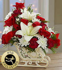 The FTD® Holiday Traditions™ Bouquet - Exquisite