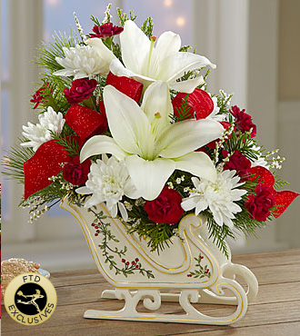 Le bouquet Holiday Traditions<SUP>TM</SUP> de FTD<SUP>®</SUP>