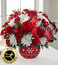 The FTD® Season's Greetings™ Bouquet - Exquisite