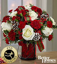The FTD® Holiday Wishes™ Bouquet by Better Homes and Gardens®  - Exquisite
