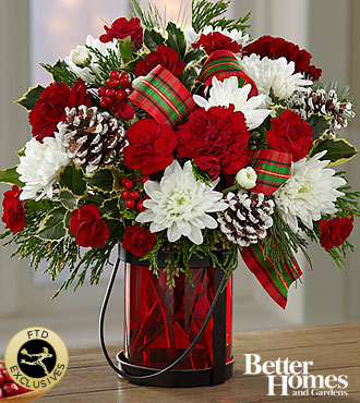 The FTD� Holiday Wishes� Bouquet by Better Homes and Gardens�