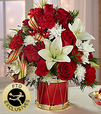The FTD® Happiest Holidays™ Bouquet - Exquisite