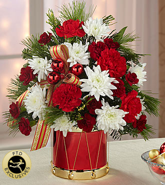 Le bouquet Happiest Holidays<sup>&trade;</sup> de FTD®