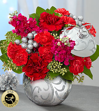 The FTD� Holiday Delights� Bouquet