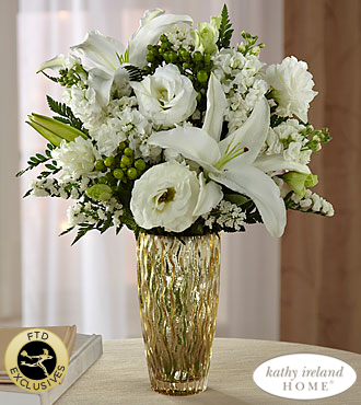 Le bouquet Holiday Elegance™ de FTD® pour Kathy Ireland Home