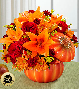 The FTD� Bountiful� Bouquet