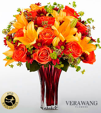 The FTD� Many Thanks� Bouquet by Vera Wang