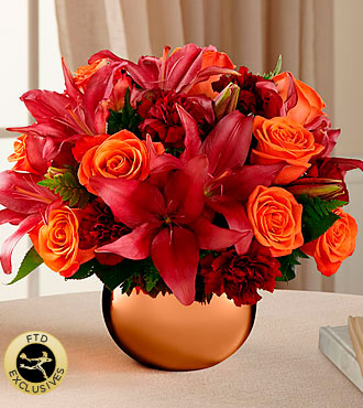 The FTD� Harvest Hues Bouquet