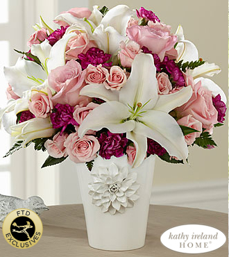 The FTD� Perfect Day� Bouquet for Kathy Ireland Home