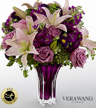 The FTD� Garden Terrace� Bouquet by Vera Wang