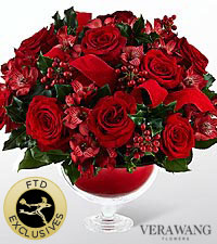 The FTD® Holiday Peace™ Bouquet by Vera Wang