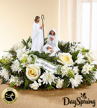 The DaySpring® God's Gift of Love™ Centerpiece by FTD®