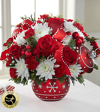 The FTD® Season's Greetings™ Bouquet - Deluxe
