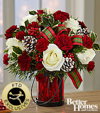 The FTD® Holiday Wishes™ Bouquet by Better Homes and Gardens®