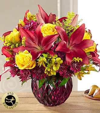 The FTD� Autumn Splendor Bouquet
