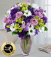 The FTD® Loving Thoughts® Bouquet -VASE INCLUDED