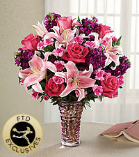 The FTD® Timeless Elegance™ Bouquet -VASE INCLUDED