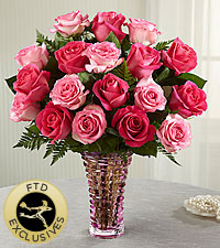 The FTD® Royal Treatment™ Rose Bouquet -VASE INCLUDED