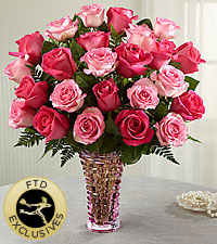 The FTD® Royal Treatment™ Rose Bouquet - VASE INCLUDED