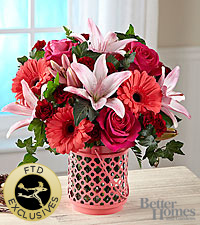 The FTD® Garden Park® Bouquet by Better Homes and Gardens® - VASE INCLUDED