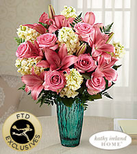 The FTD® Perfect Day™ Bouquet for Kathy Ireland Home - VASE INCLUDED
